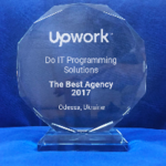 BEST AGENCY IN ODESSA, UKRAINE IN 2017 BY VERSION OF UPWORK