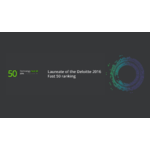 Laureate of the Deloitte 2016 Fast 50 Ranking
