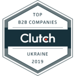 Top 2019 B2B Development Company in Ukraine by Clutch