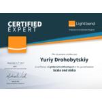 Lightbend Certified Expert Yuriy Drohobytskiy