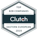 Top Eastern European B2B Company by Clutch.com