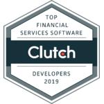 2019 'Top Financial Software Developer' by Clutch