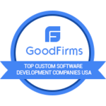 2018 'Top custom software development company in US', by Goodfirms