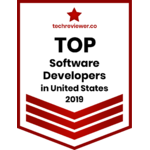 2019 'Top Software Development Company in United States' by TechReview