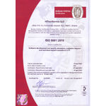 HiTech Service ISO 9001 2015 Certificate