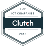 Top IoT Company on Clutch 2018