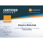 Lightbend Certified Expert Dmytro Bishchak