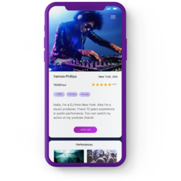 Music Marketplace for amateurs - web and mobile app (Angular, PHP )