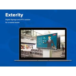 Exterity - Digital Signage and IPTV solution for a market leader