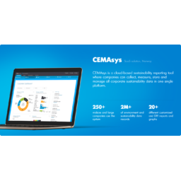 CEMAsys - SaaS Solution (sustainability, environment and risk management)