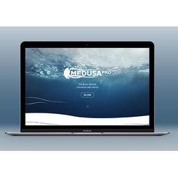 Landing page for Medusa Pro (medusabox.com/eng/pro)