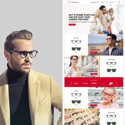 E-Commerce - glasses store - 38DollarGlasses