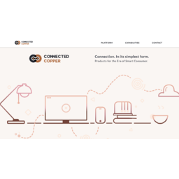 CONNECTED COPPER | Web & Mobile Application | IoT