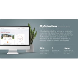 MySelection - Turning the House Construction Process into a Digital Experience