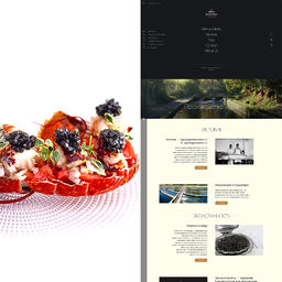 E-Commerce - sturgeon caviar store - Riofrio