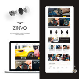 E-Commerce - watches store - ZinvoWatches