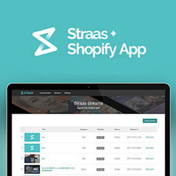 E-Commerce - Shopify application - Straas