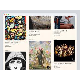 Art-gallery platform