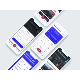 Fly ticket app concept