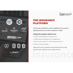 The Insurance Web Platform