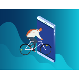 Geolocation-centric Mobile Application for Сyclist