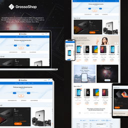 E-Commerce - smartphones store - Grossoshop