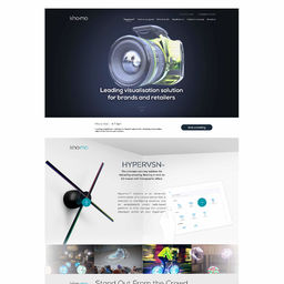 Kino-Mo | Hypervision Landing page