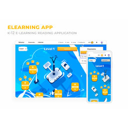 US K-12 E-learning Reading Application