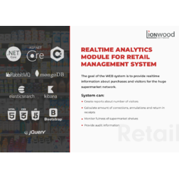 Realtime Analytics Module for Retail Management System